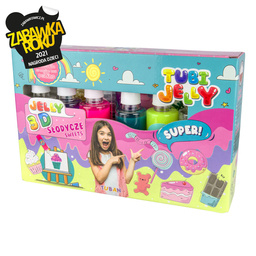 TUBI JELLY SET WITH 6 COLORS – SWEETS